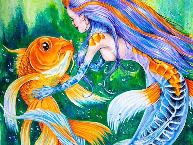 Koi Mermaid